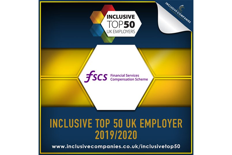 FSCS among top 50 most inclusive employers